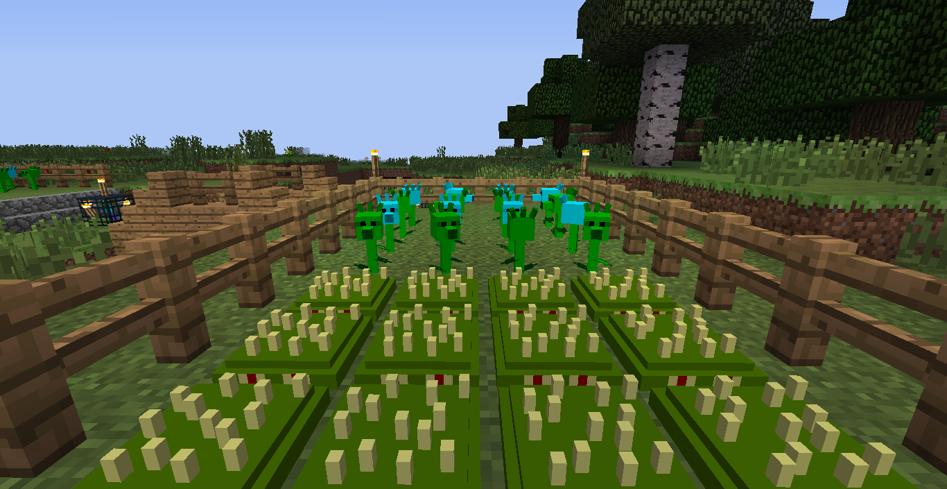 67192 Plants Vs Zombies: Minecraft Warfare Screenshots
